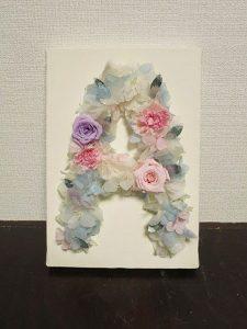 イニシャルフラワー【A】